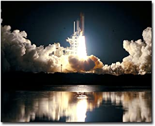 STS-93 Space Shuttle Columbia Launch NASA 16x20 Silver Halide Photo Print