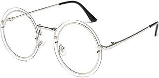 Fashion Round Metal Frame Glasses Sunglasses for Men or Women3297