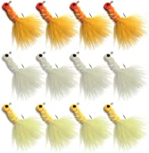 YZD Marabou Feather Jig 12pcs