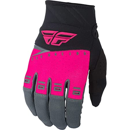 Fly Racing Pro-Lite Womens MX Offroad Gloves Neon Pink//Black