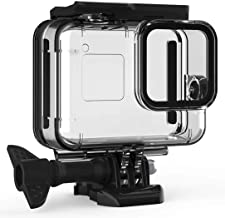 F1TP Waterproof Case for GoPro Hero 8 Black, Underwater Protective Housing Case Shell for GoPro Action Camera with Quick Release Mount and Thumbscrew