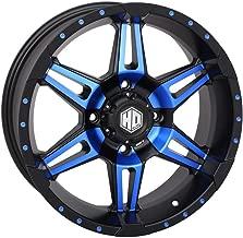 STI 14-19 Polaris RANRZR1000XE HD7 Wheel (Front/Rear / 14x7 4/156 4+3) (Matte Black/Blue)