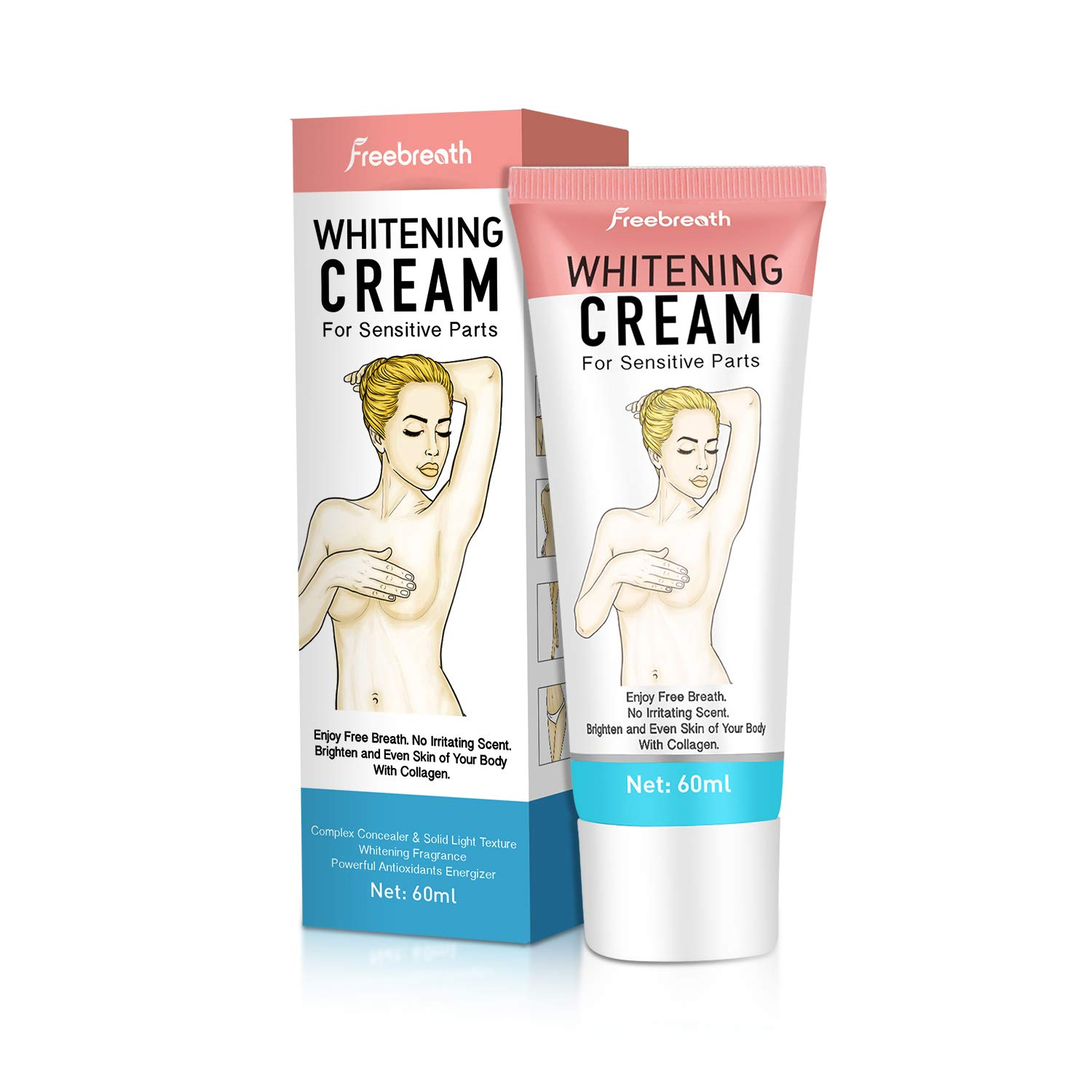 Whitening Lightening Armpit Sensitive Deodorant