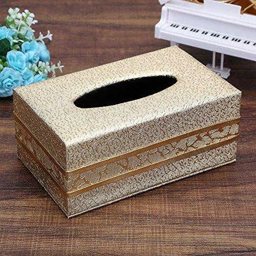 SFSYDDY-Leer zwart houten nieuwe wijn rode doos business medium leer papier rook doos luxe papieren doos A