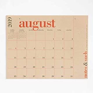 Paper Source 2019-2020 17 Month Great Big Calendar, 24 3/4