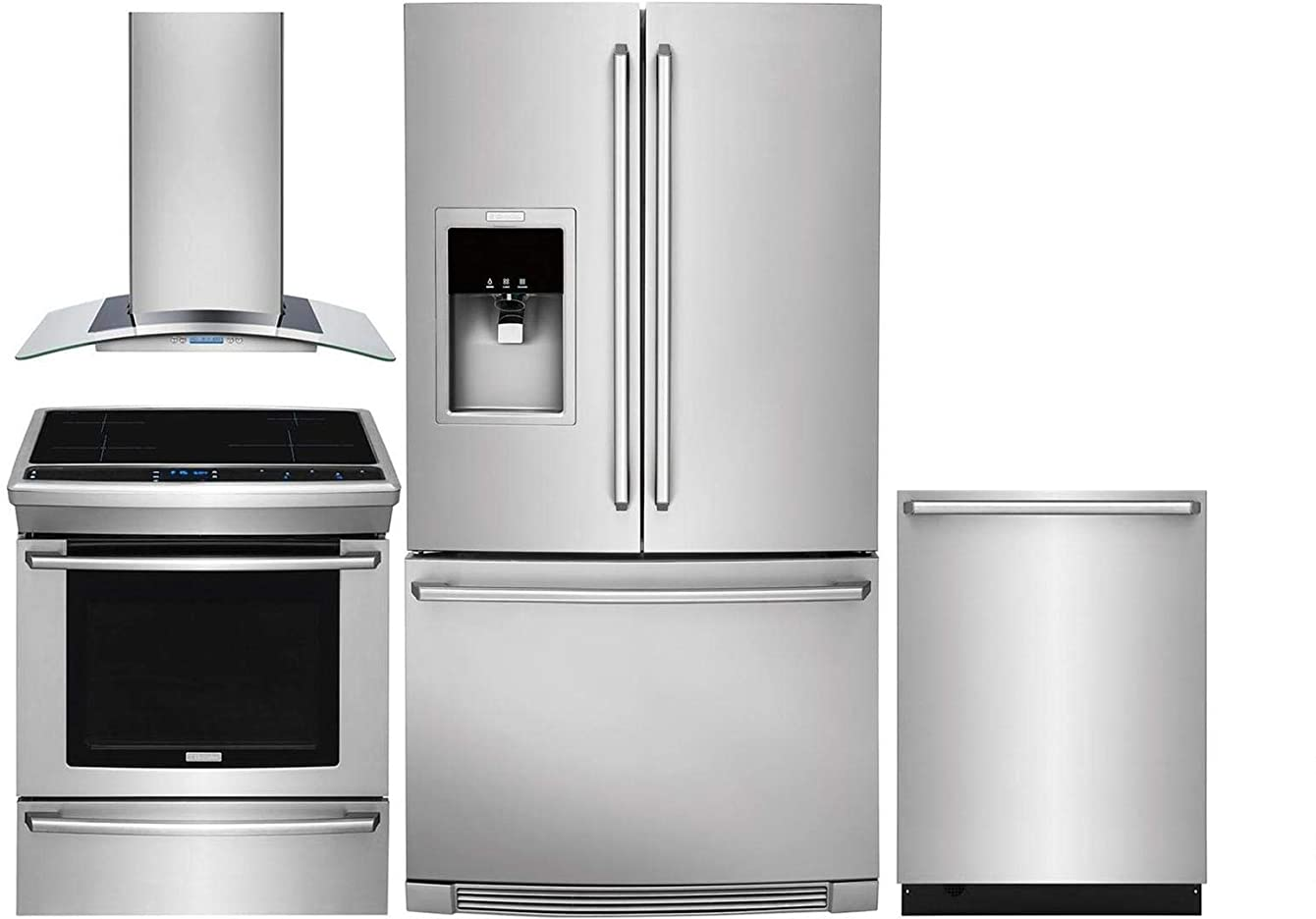 Electrolux 4 Piece Kitchen Package EW23BC87SS 36