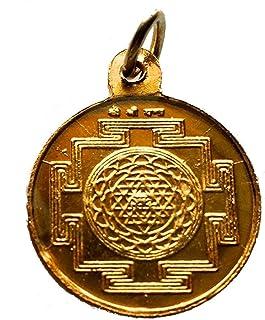 ImdianStore4All SRI MAHALAXMI MAHA LAXMI MAHALAKSHMI MAHA Lakshmi KAVACH Yantra Hindu Amulet Pendant