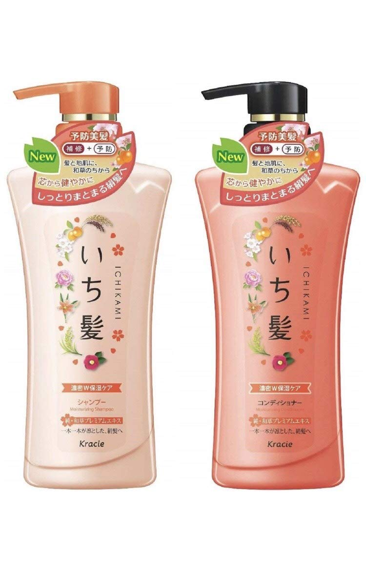 ICHIKAMI Moisture NEW2017 Shampoo conditioner