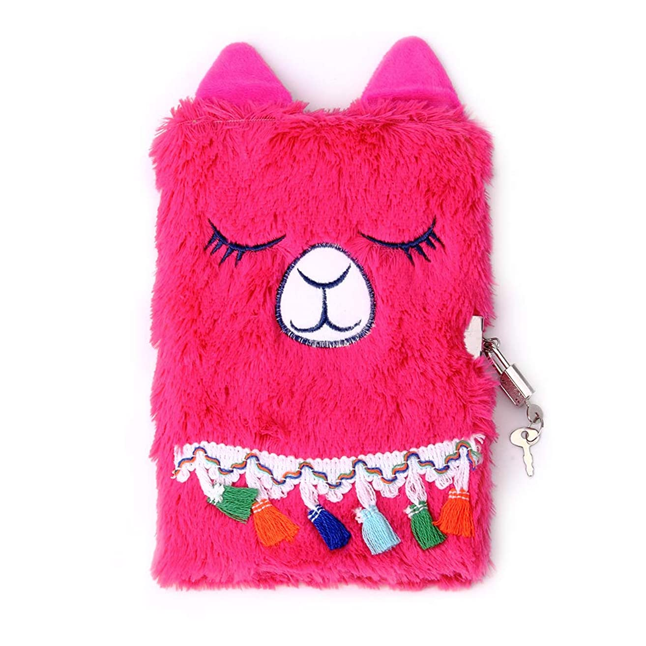 PojoTech Magical Lovely Diary with Lock for Girls (Llama)