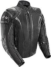 Joe Rocket Atomic Men's 5.0 Textile Motorcycle Jacket (Black, 4X-Large)