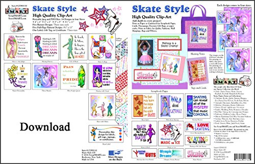 ScrapSMART - Skate Style Software Collection - Jpeg & PDF Files for Mac [Download]
