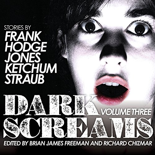 Dark Screams, Volume Three audiobook cover art