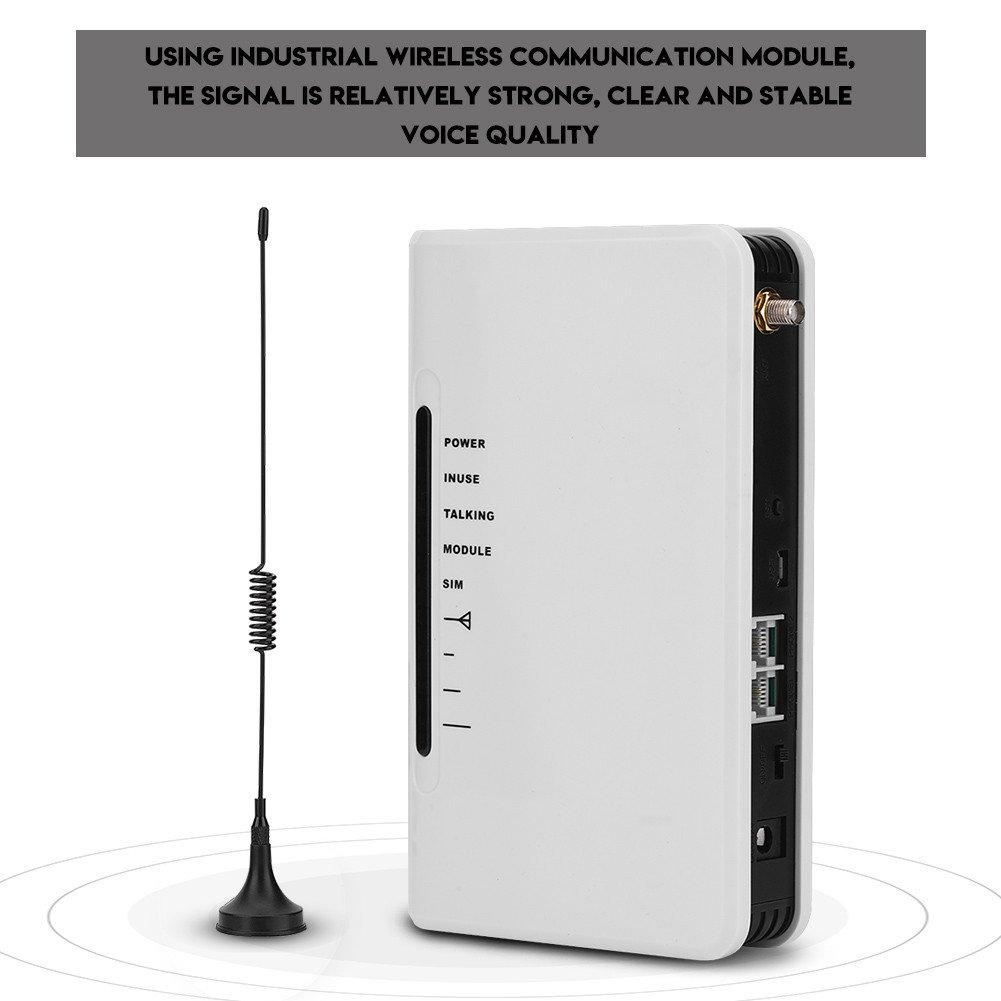 Zerone gsm 900 1800 MHz Puerta de Enlace Terminal inalámbrica de Acceso inalámbrico Plataforma de Acceso Conectar Caja de teléfono Registrador de Alarma(UE): Amazon.es: Electrónica