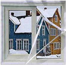Winter Windows Isolatie Winddichte Movie Self-Mucosa Stickers Inside Window Geluidsdichte film voor energiebesparende kris...