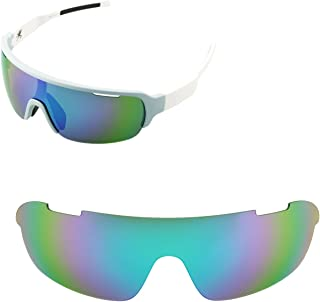Walleva Replacement Lenses for POC Half Blade Sunglasses - Multiple Options Available