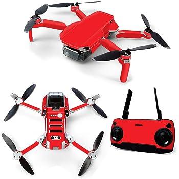 Red Anbee Waterproof Decal PVC Skin Decorative Stickers for DJI Mavic Mini Drone