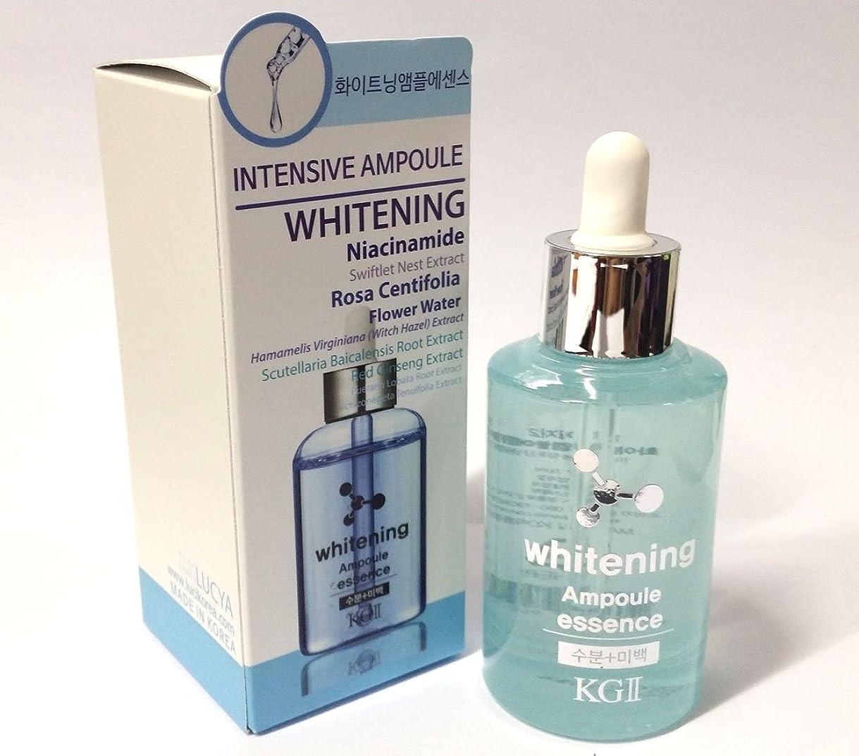 電気堤防したがって[KG2] インテンシブホワイトニングエンプレスエッセンス50ml/Intensive whitening Ampoule Essence 50ml/湿気、美白/韓国化粧品/moisture, whitening/Korean Cosmetics [並行輸入品]