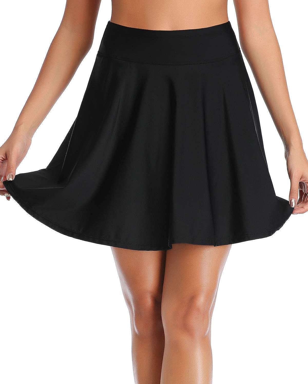 Tempt Me Women High Portland Mall Waisted Swim Swimsuit Skirt Free shipping on posting reviews Skirted Bot Long