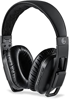 GEG Bluetooth Wireless Headphones with Mic, Apt-X Foldable Over-Ear Headphone with Hands-Free Calling,HD Sound,Standby Time 540Hours Black