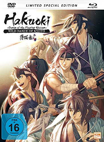 Hakuoki - The Movie 1: Demon of the Fleeting Blossom - Wild Dance of Kyoto (Limited Special Edition im Mediabook inkl. DVD + Blu-ray)