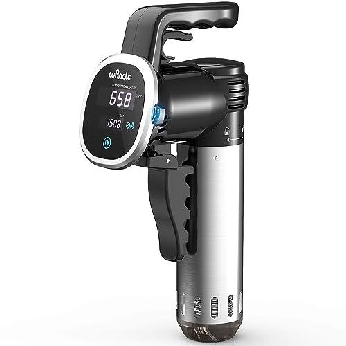 Wancle Sous Vide presenta un dispositivo para la circulación de la temperatura y la precisión de cocinar (Negro)