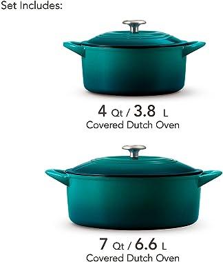 Tramontina Dutch Oven Set, 2-pack ( Teal )