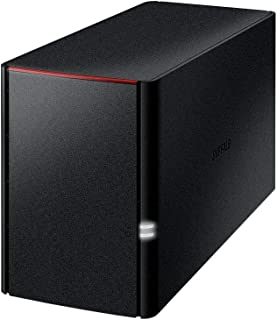 BUFFALO NAS スマホ/タブレット/PC対応 ネットワークHDD 2TB LS220D0202G 【データを守るRAID1対応モデル】