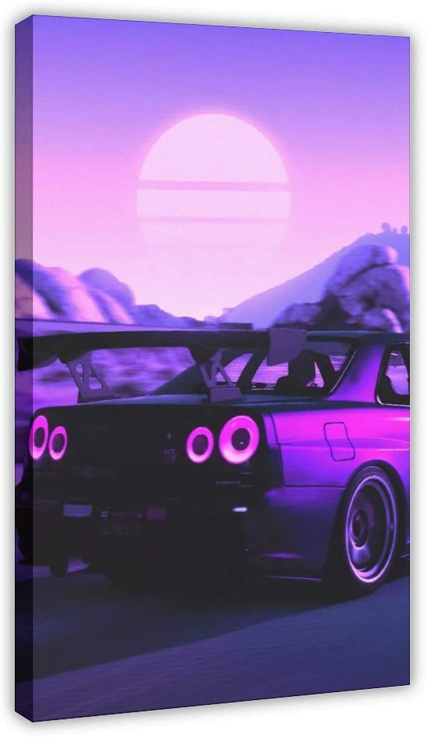 Skyline GTR R34 Anime Max 79% OFF Car Post Max 88% OFF Posters Jdm