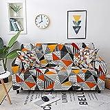 WXQY Funda de sofá geométrica elástica Funda de sofá...