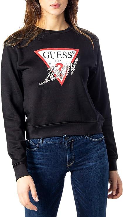 Guess Icon Fleece Sweatshirt /à Capuche Femme