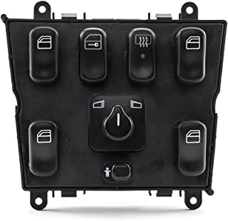 SUNROAD Electric Power Window Lifter Mirror Master Control Console Switch fit for Mercedes-Benz 1998 1999 2000 2001 2002 2003 ML320 & 1999-2001 ML430 & 2002-2003 ML500 & 2000-2003 ML55 AMG