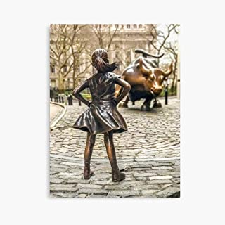 HongbarShop Fearless Girl and Wall Street Bull Statue - New York (12