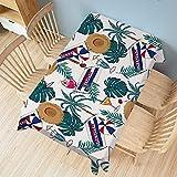 XXDD Mantel Simple y Colorido a Prueba de Polvo y Mantel de Planchado Rectangular Cubierta de Mesa de Comedor para Banquetes decoración del hogar A2 140x140cm