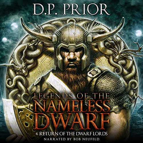 Return of the Dwarf Lords audiobook cover art