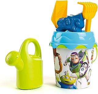 Smoby- Cubo de Playa Toy Story 4 Seau de Plage avec Accessoires, 862096, Multicolore