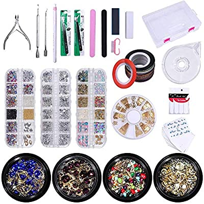 LIARTY 1280-teiliges DIY Nail