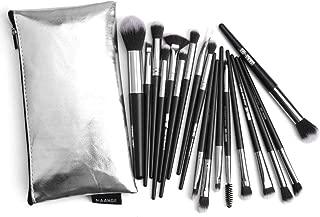 Crazy-store 18pcs Pro Make Up Brush Set Soft Blush Cheek Brushes Beauty Tool for Adult Making up w/Bag