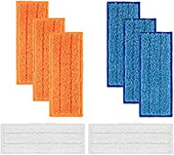 IHGTZS Sweeper Accessories, Carnival Day Father'S Day Cool And Clean Living Environment 100% Match 8Pc Detachable Washable Mopping Pads Replacements For Irobot Braava Jet 240 241