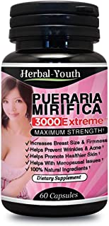 Extreme Pure Natural Bust Breast Enlargement Capsules PM 3000