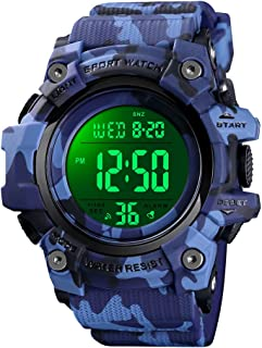 Kids Watch Digital Outdoor Sport Waterproof Large-Face...