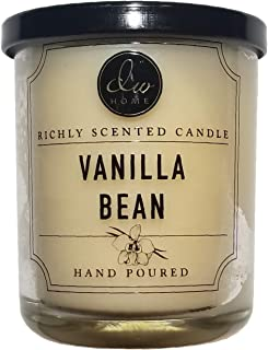 DW Home Small Single Wick Candle Vanilla Bean Scent 4 oz.