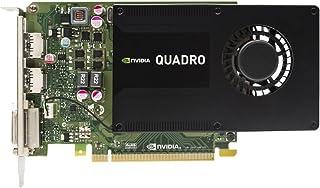 HP - Tarjeta gráfica (Quadro K2200, 4 GB, GDDR5, 128 bit, 4096 x 2160 Pixeles, PCI Express 2.0)