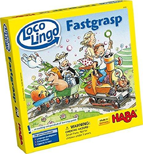 HABA 5936 Loco Lingo Schnelles Griffkartenspiel