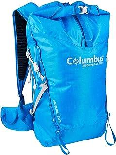 Adventure 23 + 7 Mochila Impermeable para Senderismo o Trekking o Deportes de montaña en Invierno. Dispone de Tirantes Ajustables, Estabilizador de Carga y Soporte para Bastones Color Azul.