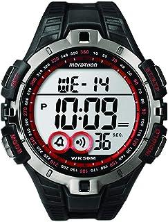 53bb1488c59f Timex Marathon Sport T5K4239J Red and Black Digital Watch