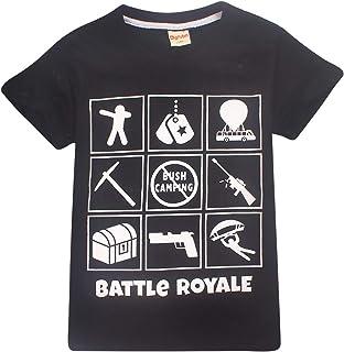 Thombase Kids Floss Like A Boss Printed T Shirts Boys Gaming T-Shirts Tops