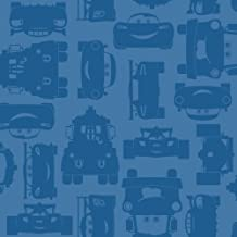 York Wallcoverings Walt Disney Kids II Lightning and Mater Wallpaper Memo Sample, 8-Inch x 10-Inch, Medium and Bright Blue