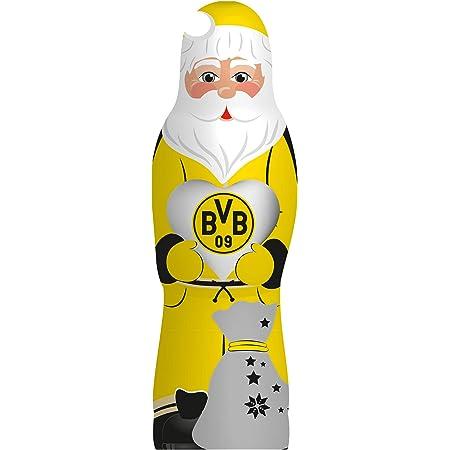 Schoko Weihnachtsmann Nikolaus Borussia Dortmund BVB Schokoladenmischung Weihnachten 2020