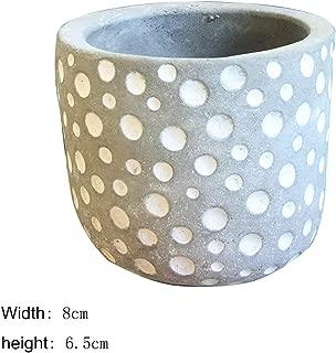 14 Type Cement Succulent Planter Pot Grey Set Small Concrete Cactus Plant Pot,Type08