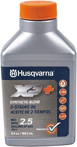 wholesale Husqvarna lowest 593152303 Pack of sale 6 XP+ 2 Stroke Oil 6.4 oz. online